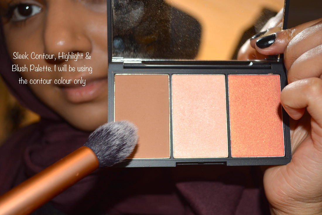 My Current Everyday Makeup Routine Hijabizpeaceup Eye Shadow Just Miss 223 To Contour Nose And Under Cheek Bones I Have Used The Sleek Face Form Palette In Fair Use Bronzer Part Of
